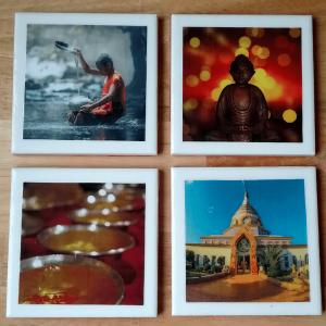 coasters - buddha